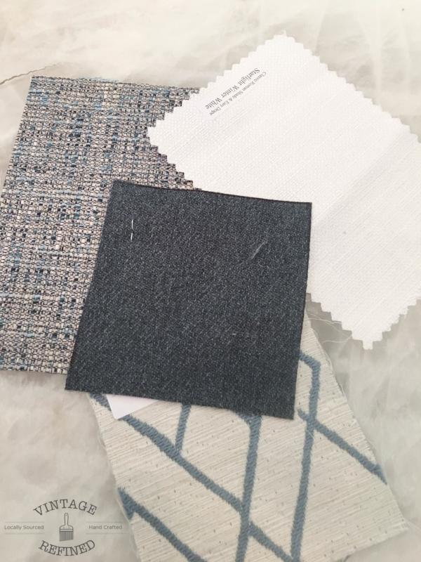 blue grey fabrics