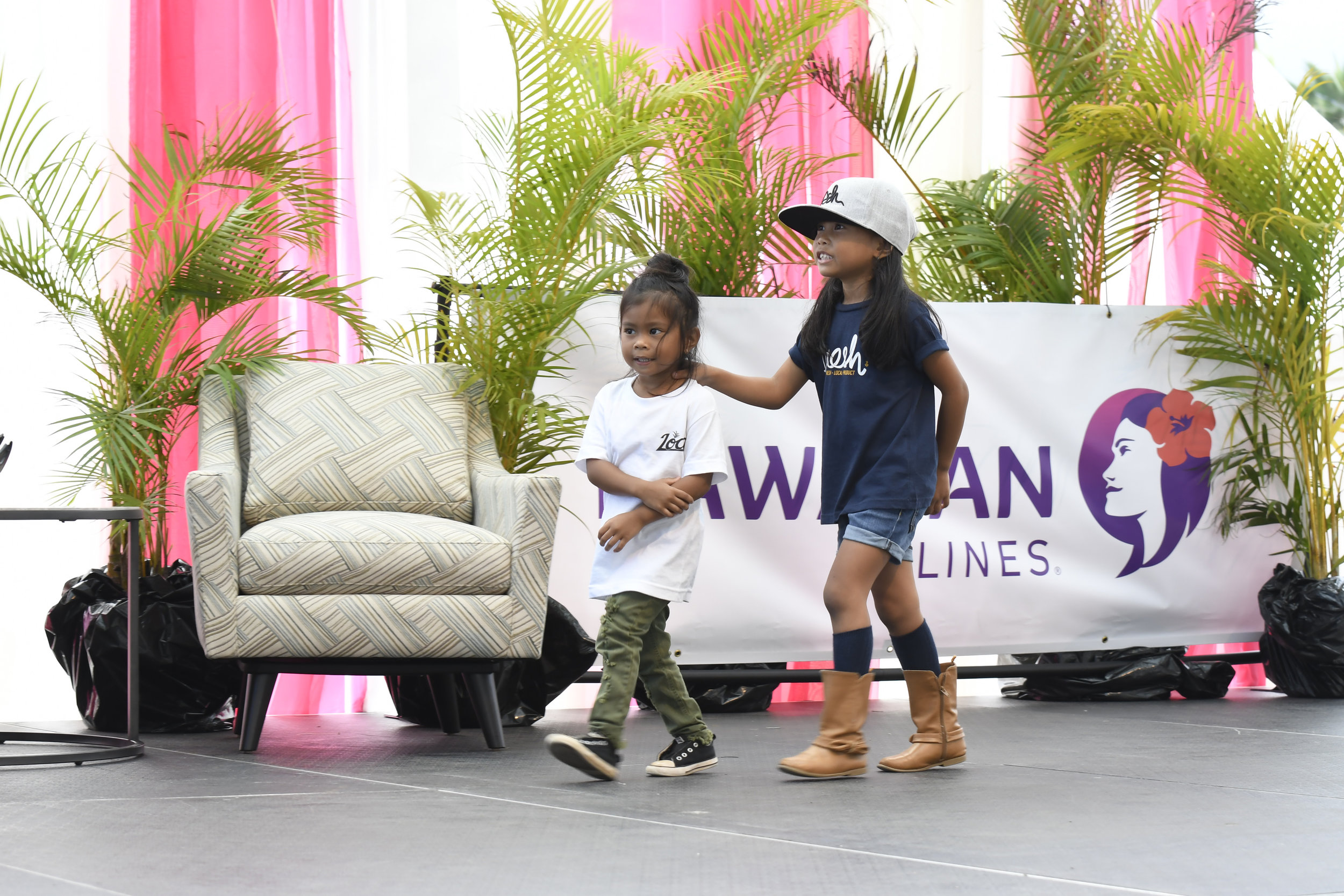 MIMCF Keiki Fashion Show on Hawaiian Airlines Presentation Stage.jpg