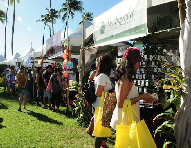 In 2018, the Made in Maui County Festival drew more than 10,000 residents and visitors over the two-day event at the Maui Arts & Cultural Center in Kahului.