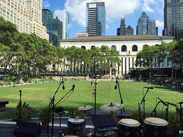 It's gonna be a beautiful night. @bryantparknyc 9pm