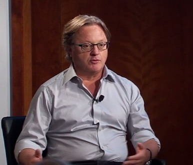 Venture Capitalist Eric Hippeau speaks to students about his career