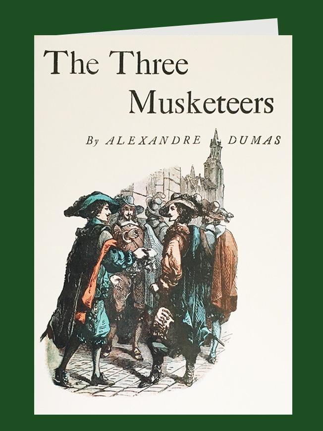 tarjeta felicitacion los tres mosqueteros.jpg