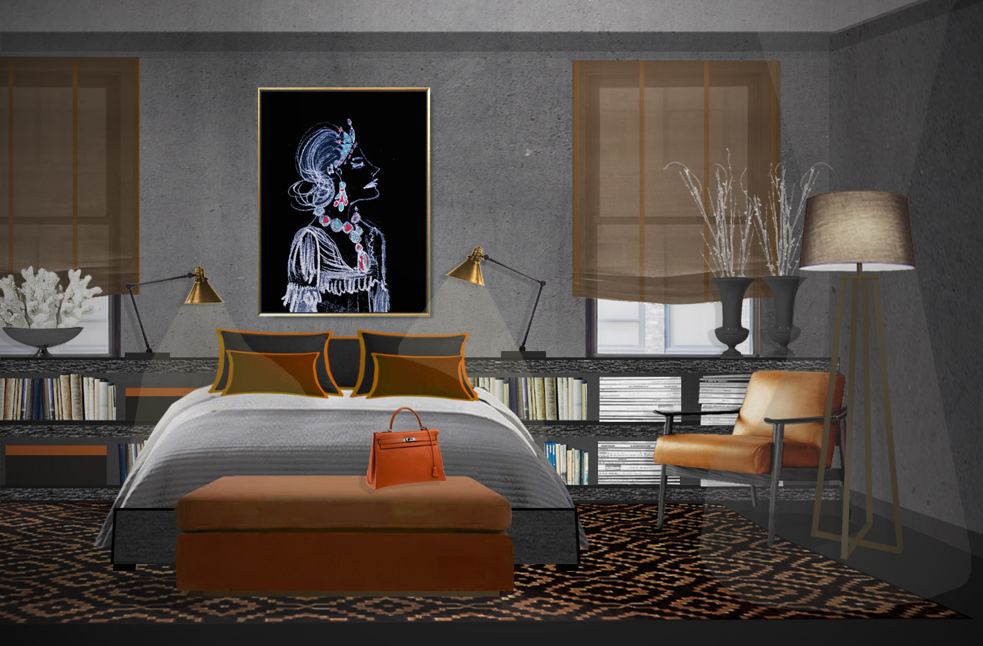 Classic art prints for contemporary interior design.jpg