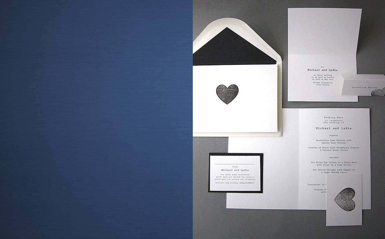 BODAS - diseños elegantes y con estilo, desde clásicas invitaciones hasta modernas tarjetas