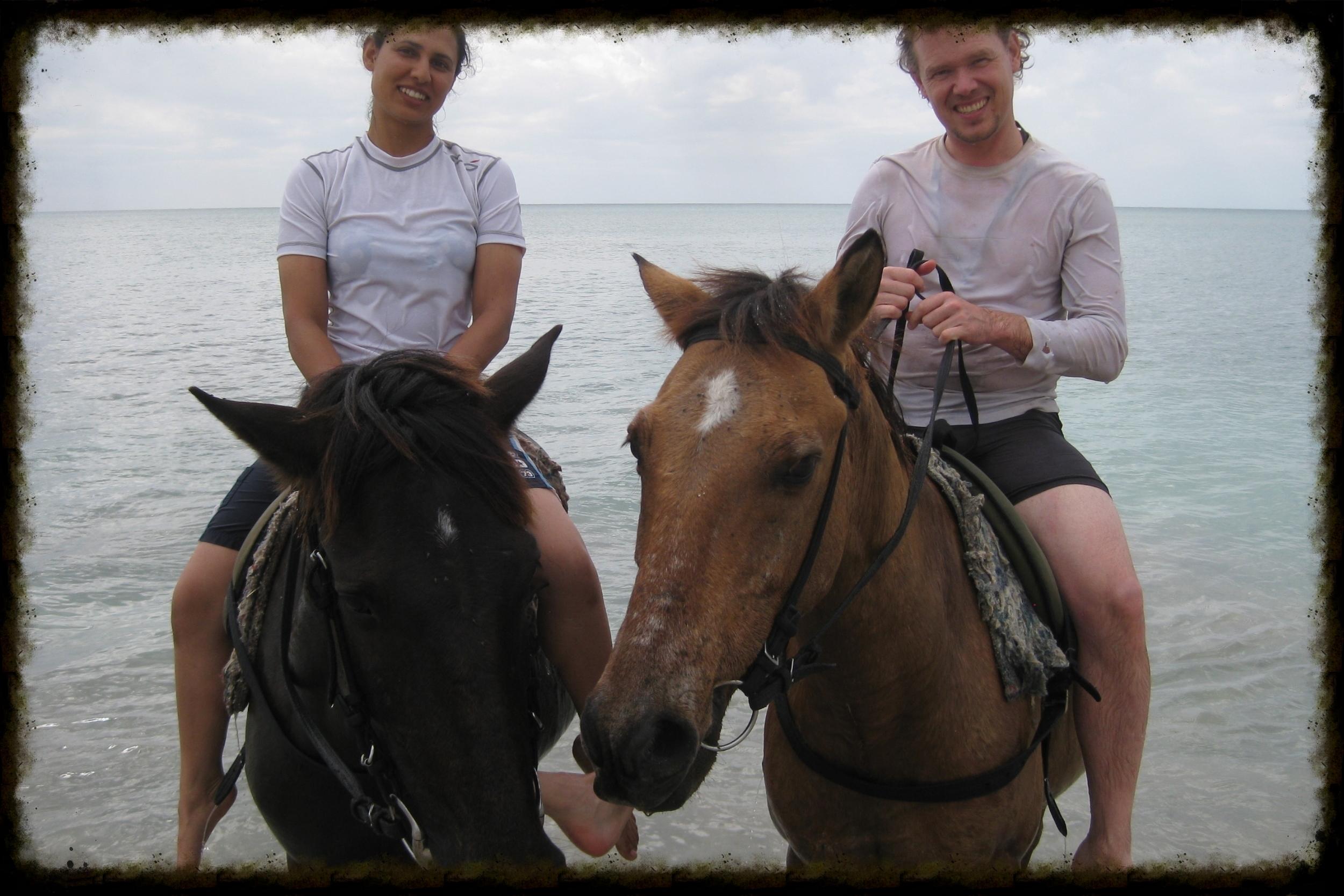 Reggae Horseback Riding