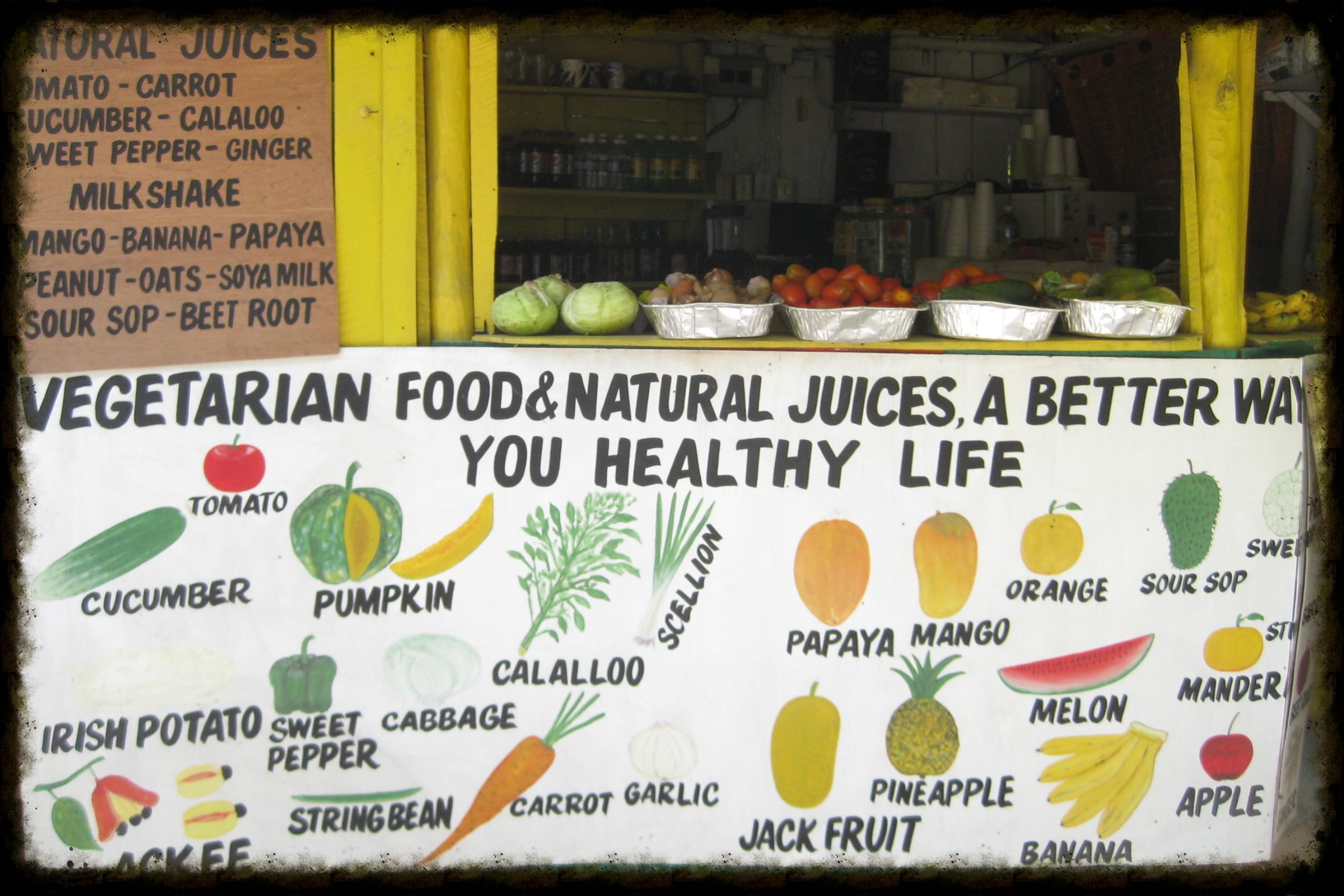 Fruits and Veggies of Jamaica