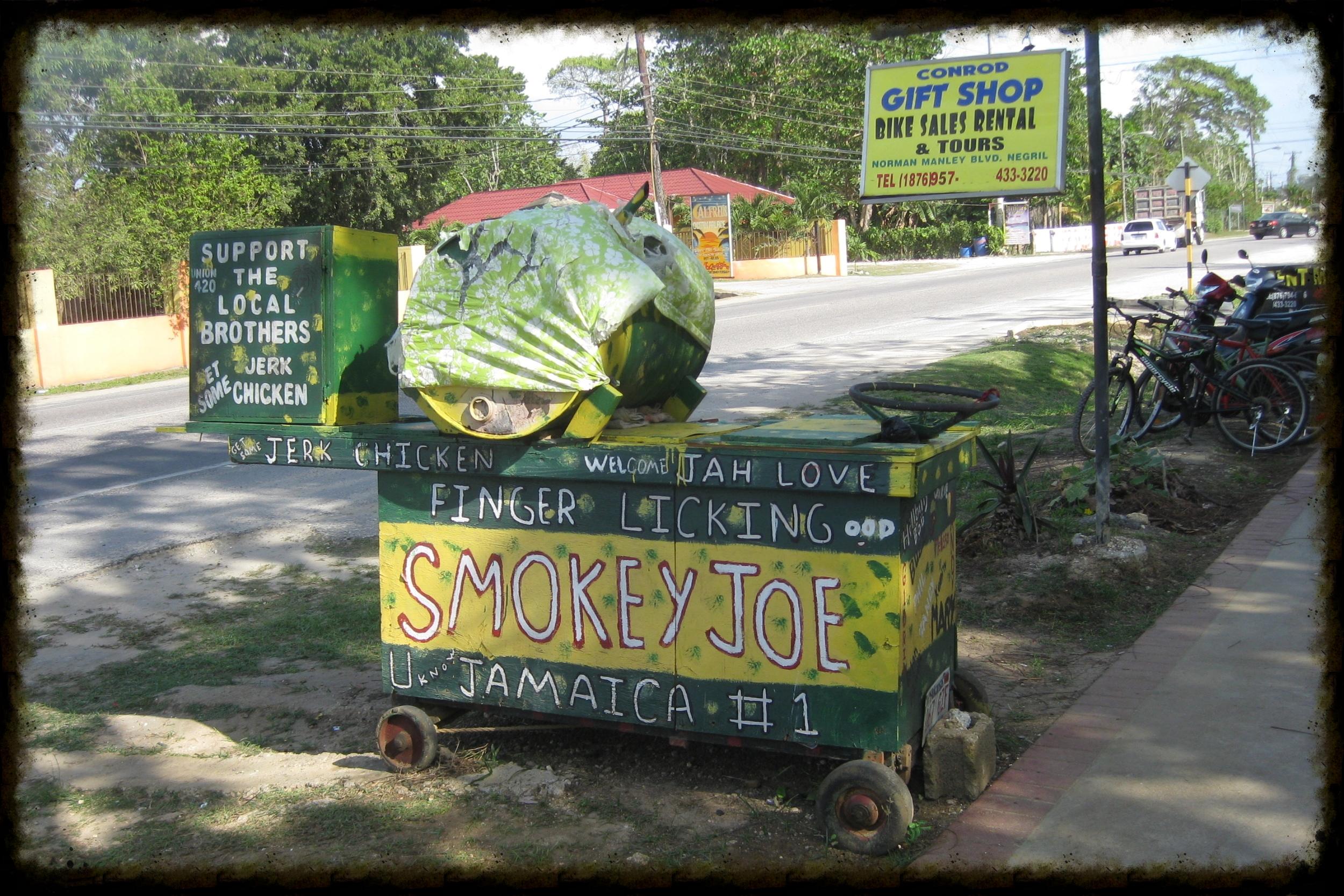 Street Food… Jerk Stand