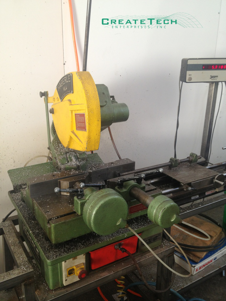 Haberle HL4 Cold Saw
