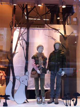 window display_il gufo_francesca signori