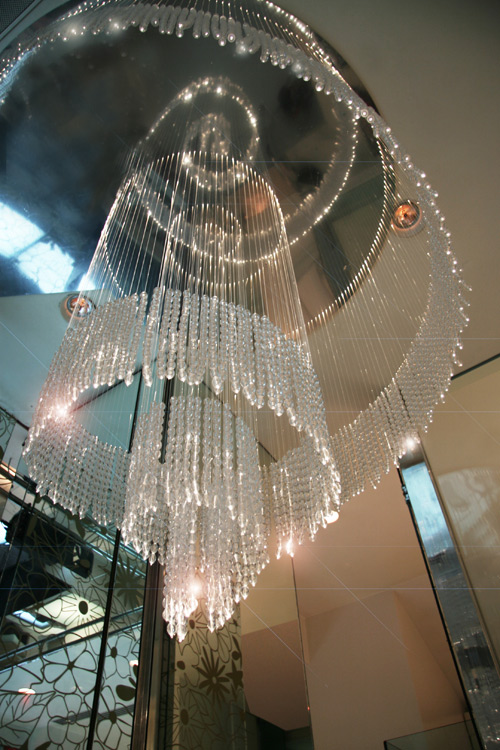 bespoke chandelier - design francesca signori