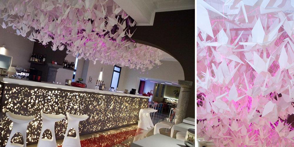 Club Due Colonne_ bespoke chandelier_deign francesca signori
