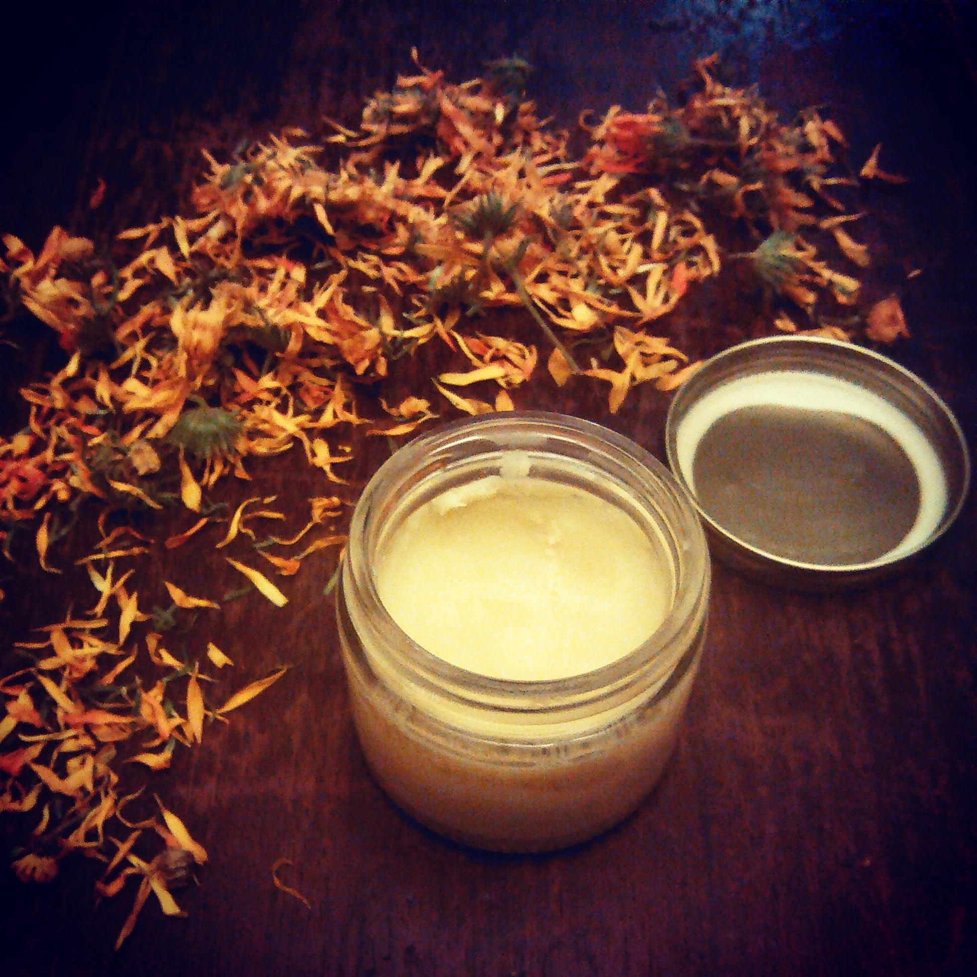 Healing Love Balm made with Calendula