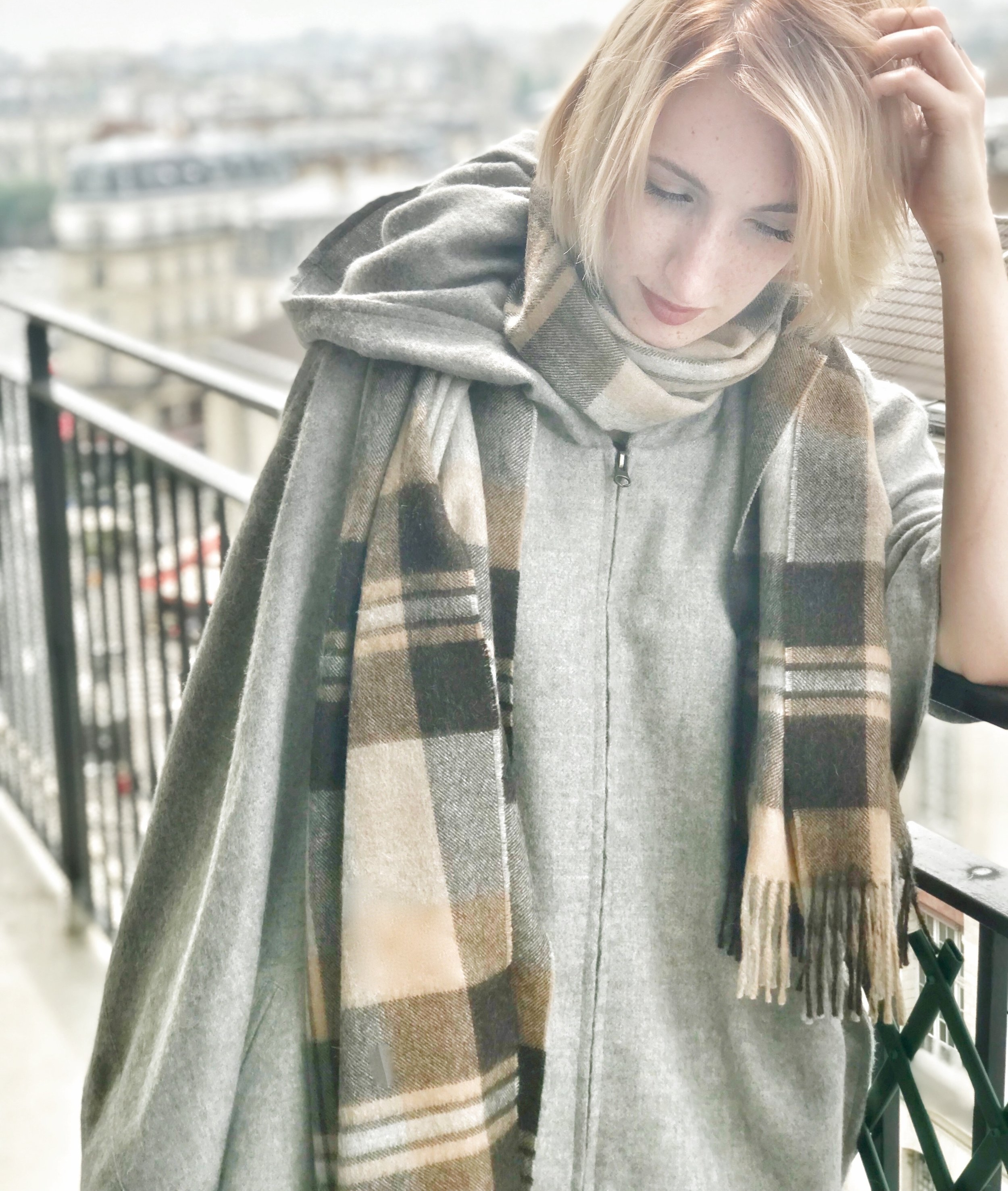 boy-friend wrap - oversize scarf or travel wrap, ultimately the coziest scarf for this winter!