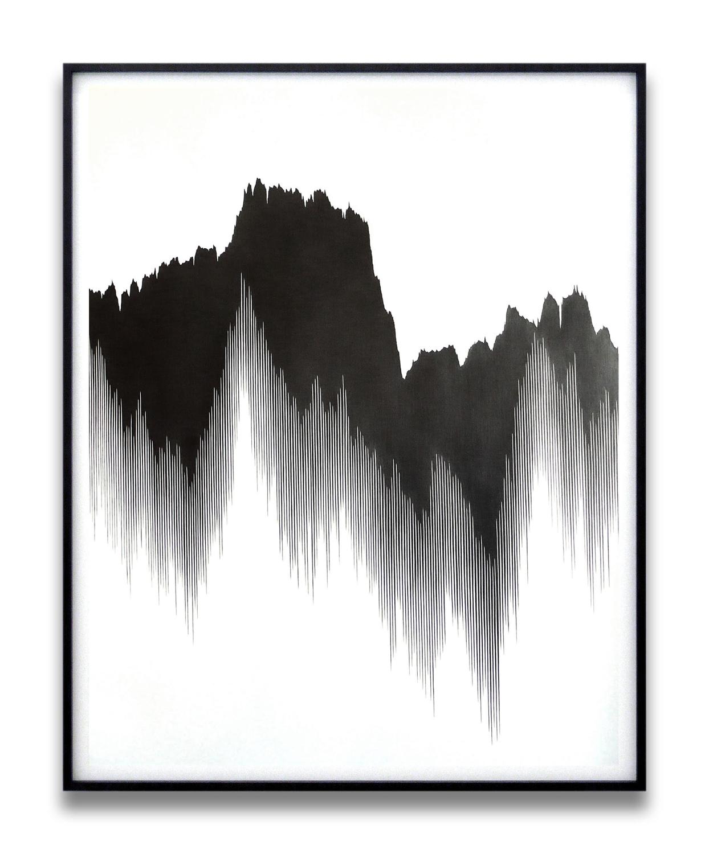draft lX, 2010, pencil on paper, 140 x 110cm