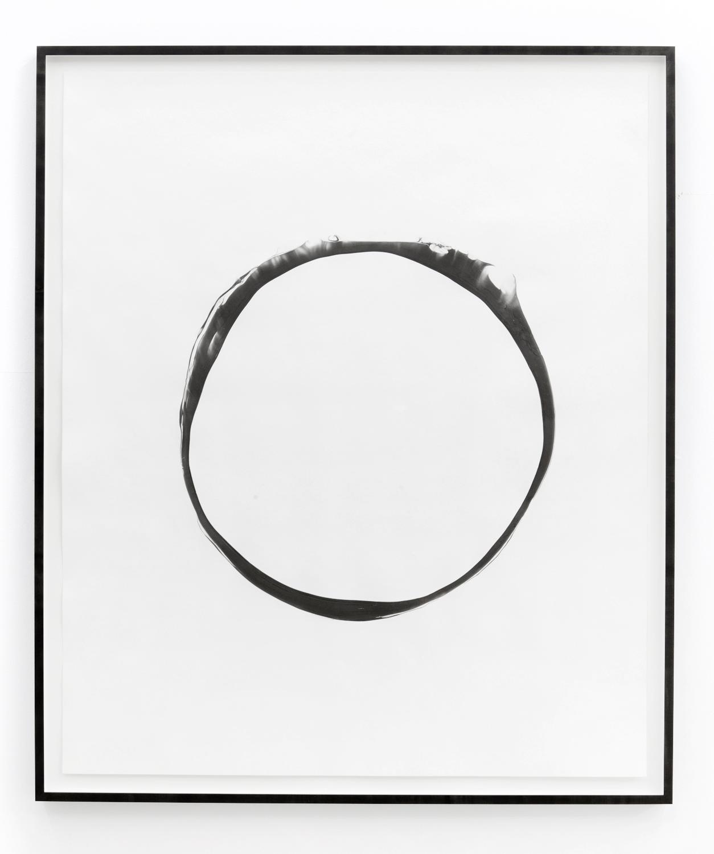Corona ll , 2012, ink on paper, 151 x 125,5cm