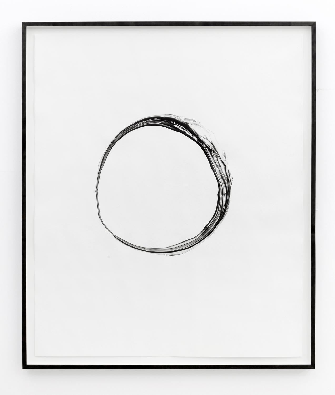Corona l , 2012, ink on paper, 151 x 125,5cm