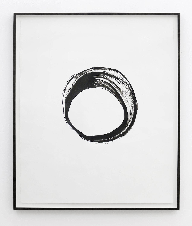 Corona Vlll , 2012, ink on paper, 151 x 125,5cm