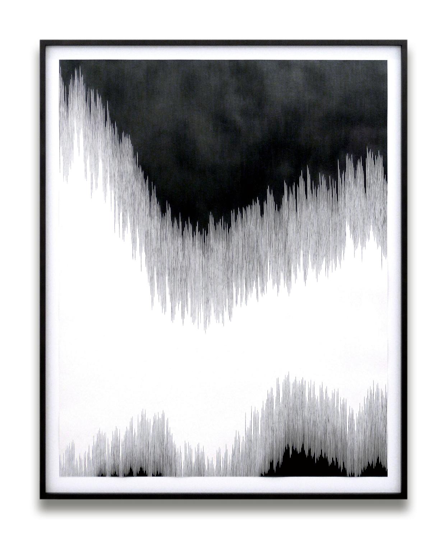 draft ll, 2010, pencil on paper, 140 x 110cm