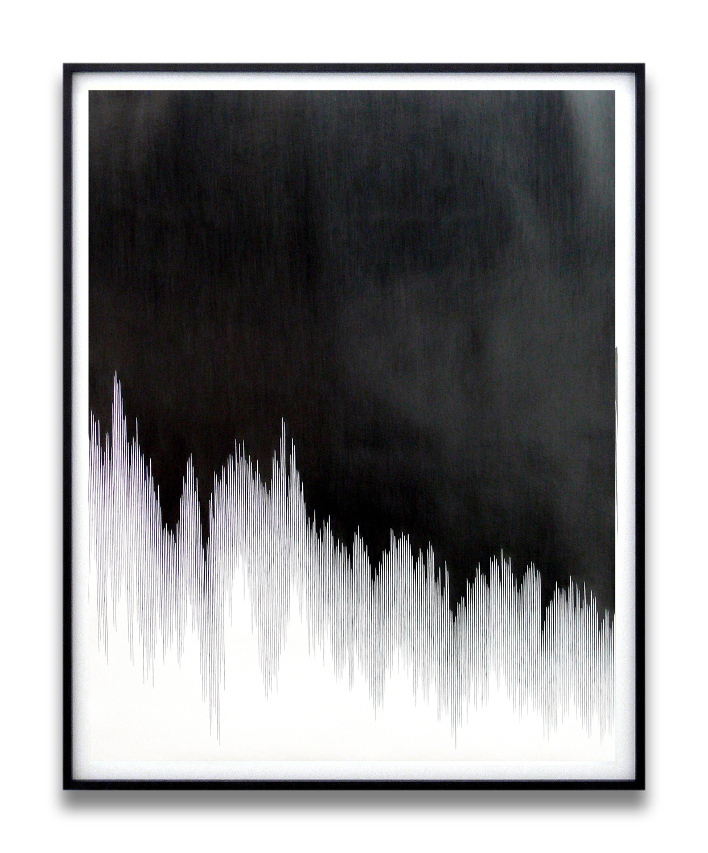 draft lll, 2010, pencil on paper, 140 x 110cm
