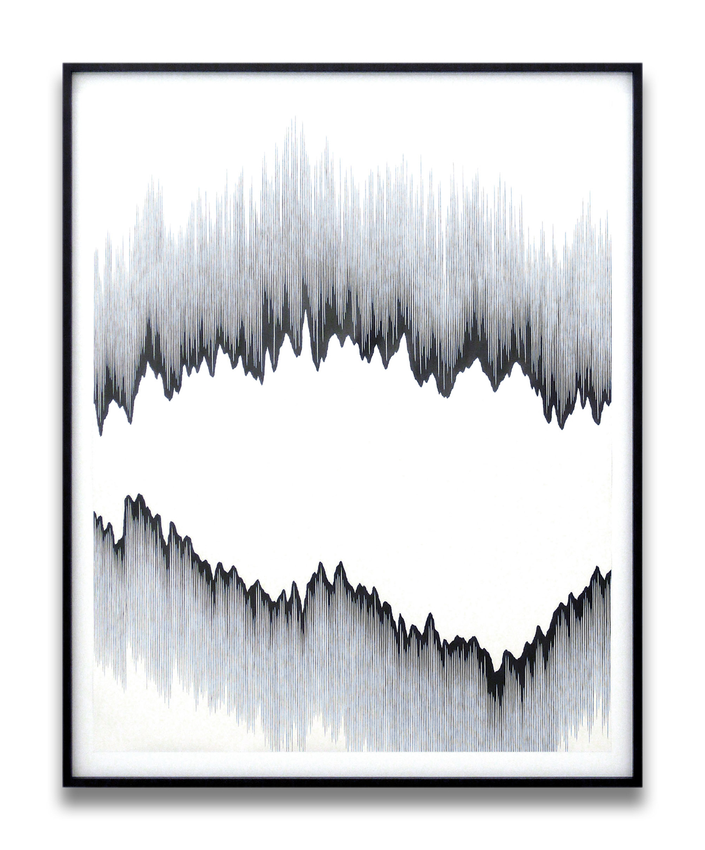 draft l, 2010, pencil on paper, 140 x 110cm