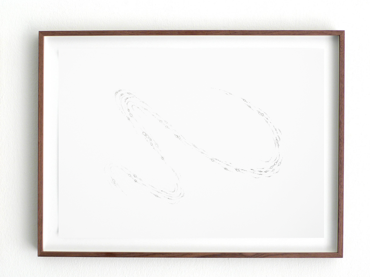 Vision/ compa, 2008, pencil on paper, 29,7 x 42cm