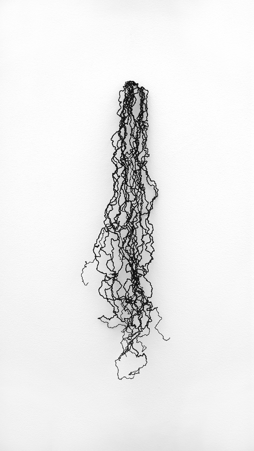 pitch   , 2011 nylon, 67 x 10 x 12cm      stray currents, 2011, Towner, Eastbourne