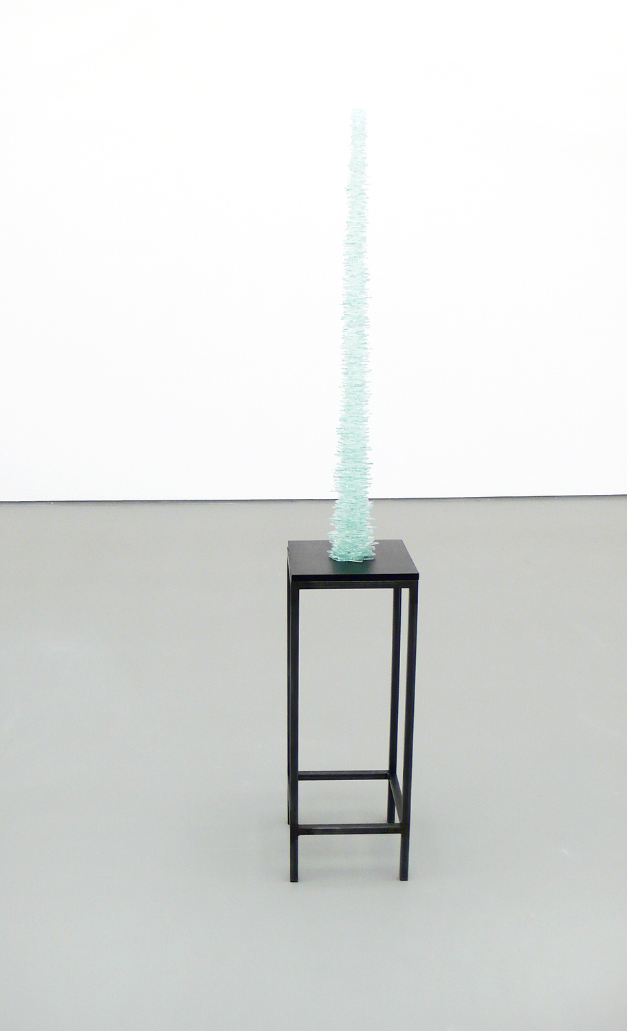 ahu   , 2011, glass, metal, wood, silicon,     dimensions variable   stray currents, 2011, Towner, Eastbourne