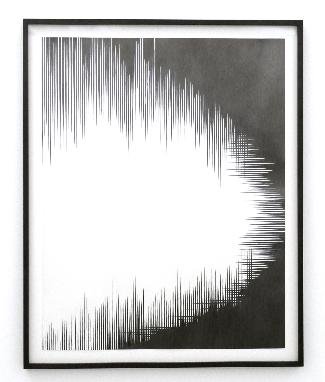 dust l  , 2011, pencil on paper, 110 x 86cm      hyle, 2011, Lullin + Ferrari, Zürichv
