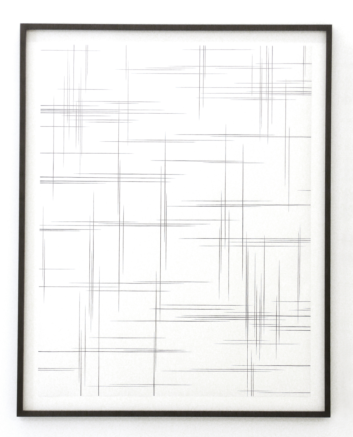 dust lll  , 2011, pencil on paper, 110 x 86cm   hyle, 2011, Lullin + Ferrari, Zürich