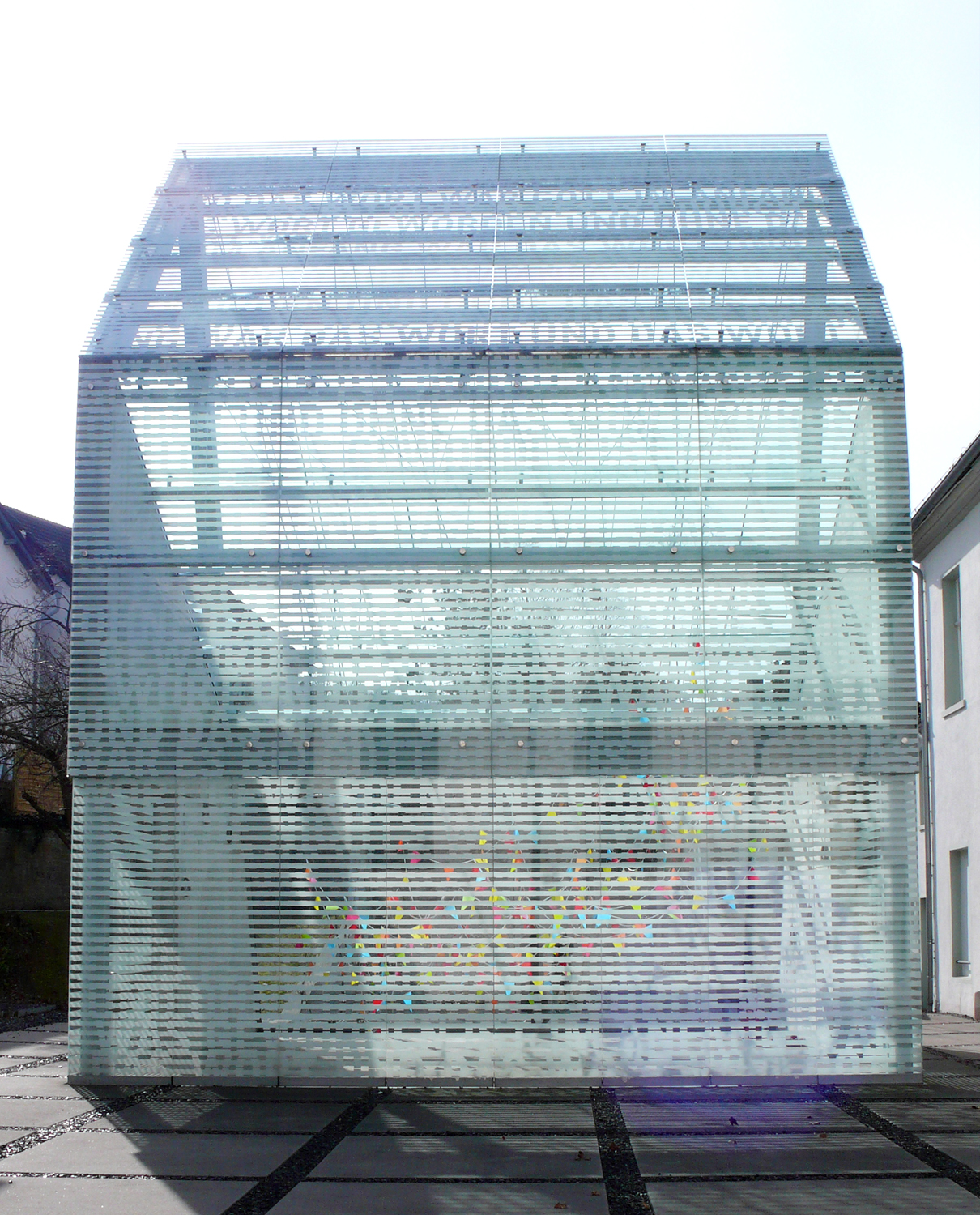 some echoes, some shadows, 2013 textiles, plastic, dimensions variable  Lichthaus, Kunstverein Arnsberg