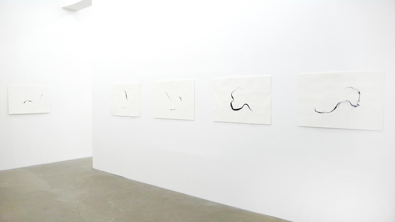 Installation  Turbulences , 2014 at SCHLEICHER/LANGE, Berlin