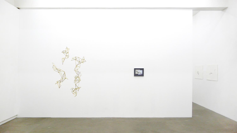 Installation ' Turbulences ', 2014 at SCHLEICHER/LANGE, Berlin