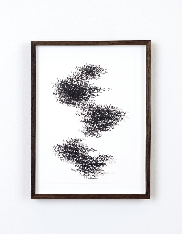 ich taumeltürme, 2016, ink, pencil, gouache, spray paint, each 21 x 14,5cm