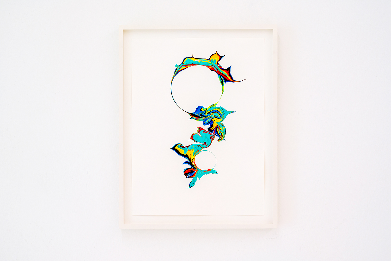 Scattered Rainbow / mavrica , 2019, 40 x 30cm