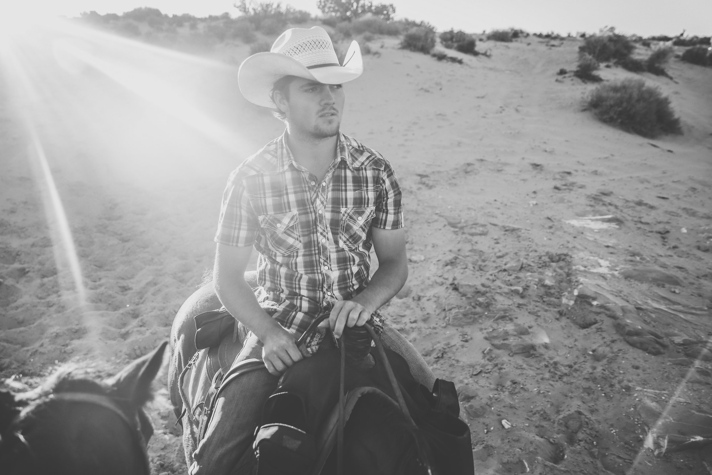 """Our wrangler J.R. He liked to call me ma'am and said all sorts of things you'd imagine a real cowboy would. My favorites? """"Get er done,realllll niiice, and over yonder."""""""