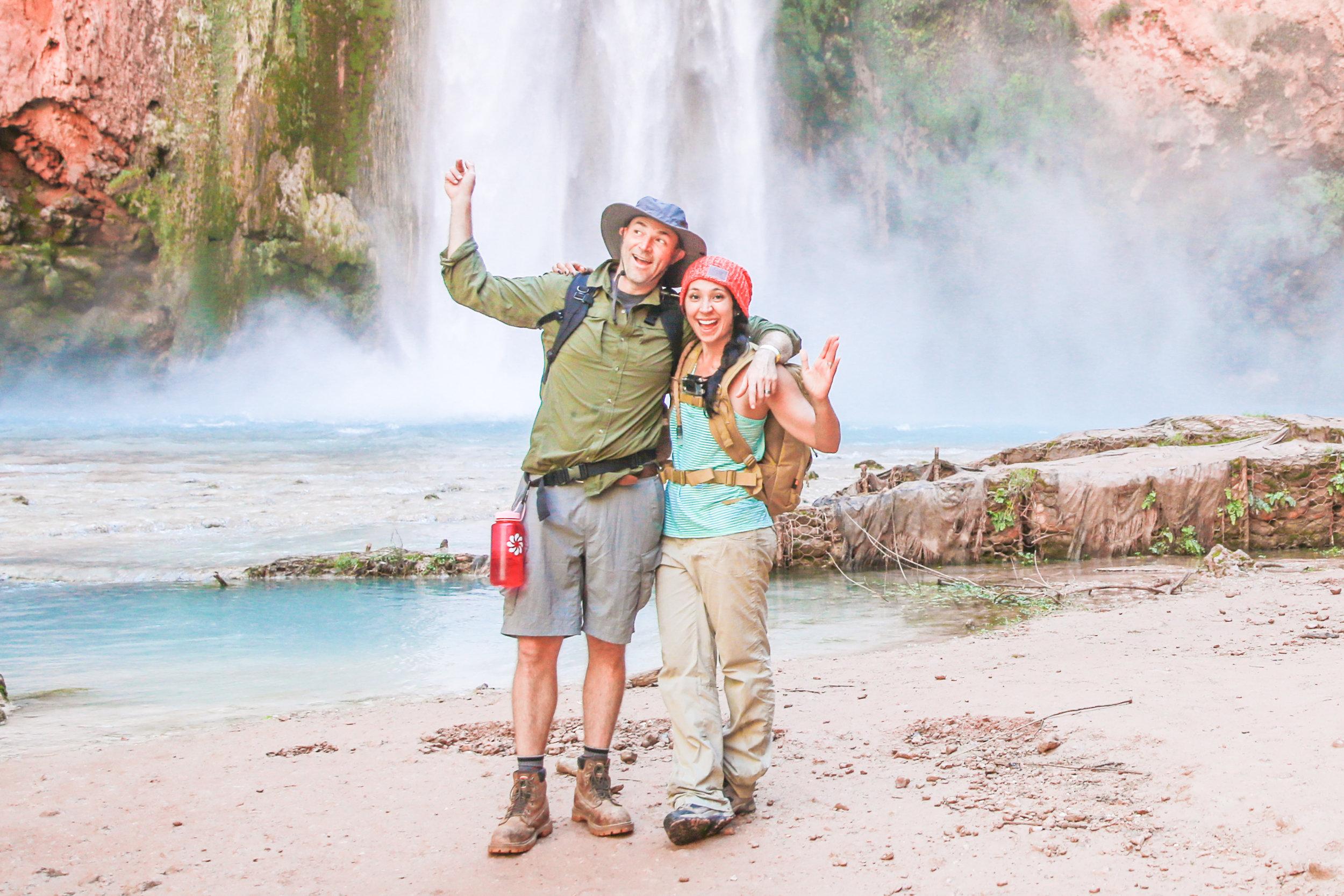 Do go chasing waterfalls.