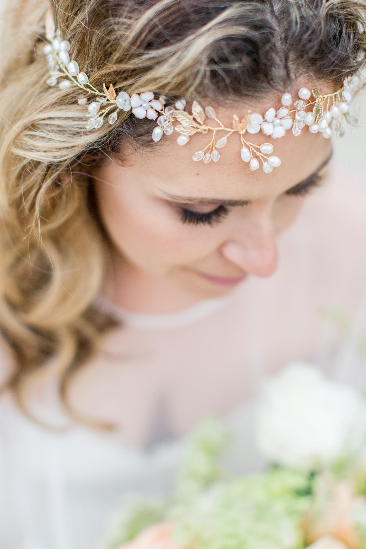 """Jaxie Bridal Hair Accessory: """"Anji"""""""
