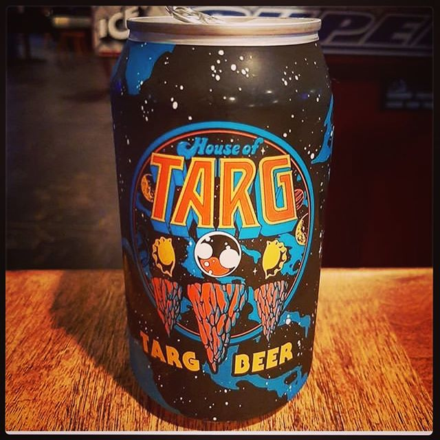 TARG beer - lovingly crafted by our #wizard pals @bigrigbrewery and always available at the bar - grab an ice cold can on your next visit!! We've got an amazing show for you tonight - doors@9pm for a special #grunge edition of BIG SHINY TUNES LIVE! w/VJ @skajeff THE TEMP and musical guests FOUR PILLARS OF SEATTLE - join us!! 🙂👾🙂 #ottawa #pinball #perogies #classic #arcade #retro #gaming #fun #handmade #food #restaurant #vegan #options #events #shows #bands #music #community #love #nevergiveup