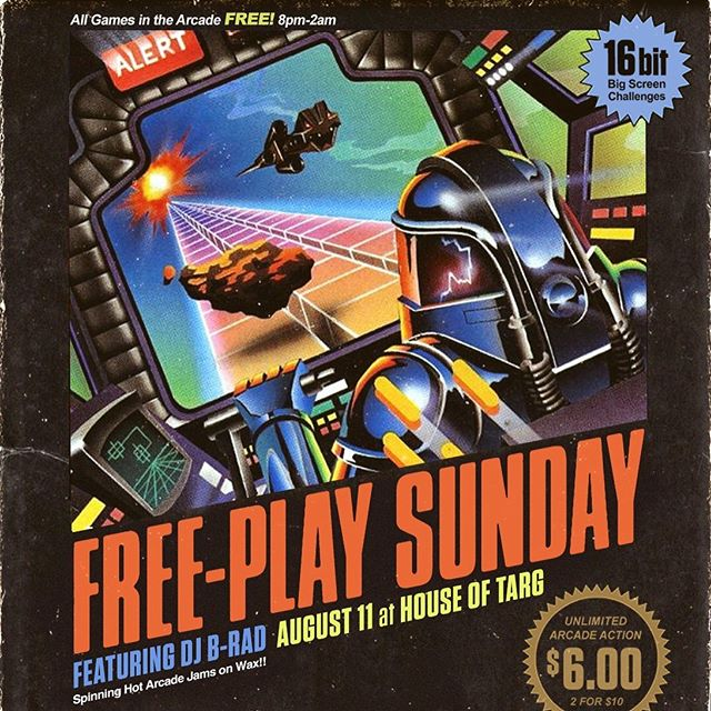 TONIGHT!! Doors@8pm for FREEPLAY SUNDAYS with your host DJ @kJ maxxx and guests - every machine in the arcade set to FREEPLAY mode, old school SNES action in the lounge, drink specials at the bar and handmade perogies served late!! Join us 🙂👾🙂 #ottawa #pinball #perogies #classic #arcade #retro #gaming #fun #handmade #food #restaurant #vegan #options #events #shows #bands #music #community #love #nevergiveup @arcade_hell @collectivebrew