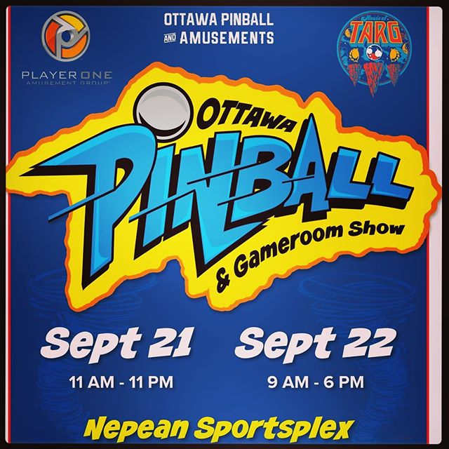 The @ottawapinball & Gameroom Show is just around the corner! Join us for this amazing annual event September 21/22 at the Nepean Sportsplex - over 100 games set to FREEPLAY mode, O-town throwdown tournament action, pinball history exhibit and more!! There is still a bit of time left to get your limited edition @dirtydonnyart VIP T-shirt and all access weekend pass at www.ottawapinball.com - see you at the show!! 🙂👾🙂 #ottawa #pinball #perogies #classic #arcade #retro #gaming #fun #handmade #food #restaurant #vegan #options #events #shows #bands #music #community #love #nevergiveup