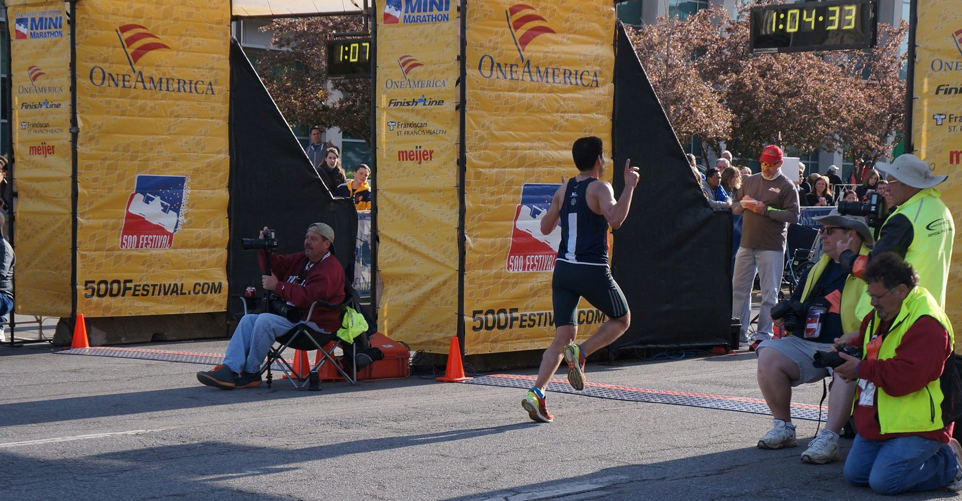 Aziz Atmani, Indy's & PBT's 1st Mini Finisher in 2014
