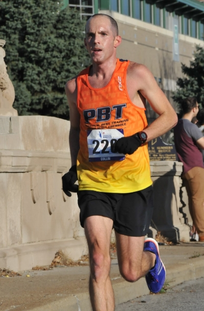 Collin Trent finished, paced (his fastest and slowest miles were within 9 seconds, -5/+4 of his average pace), and raced, finishing 20th at Monumental 2016.