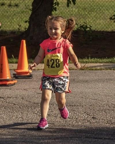 Annie looking & running like a million bucks!