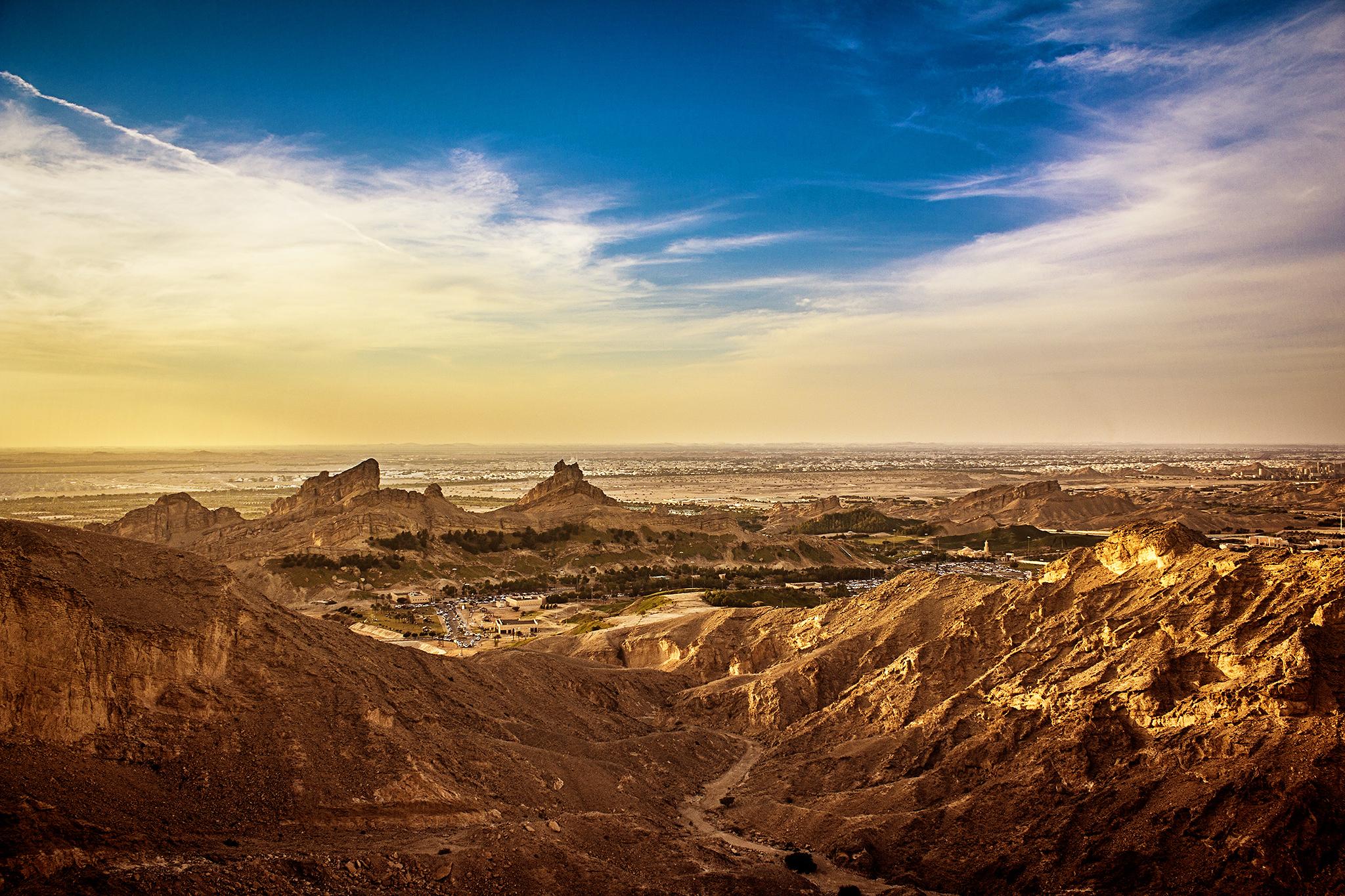 Jebel Hafeet, UAE.
