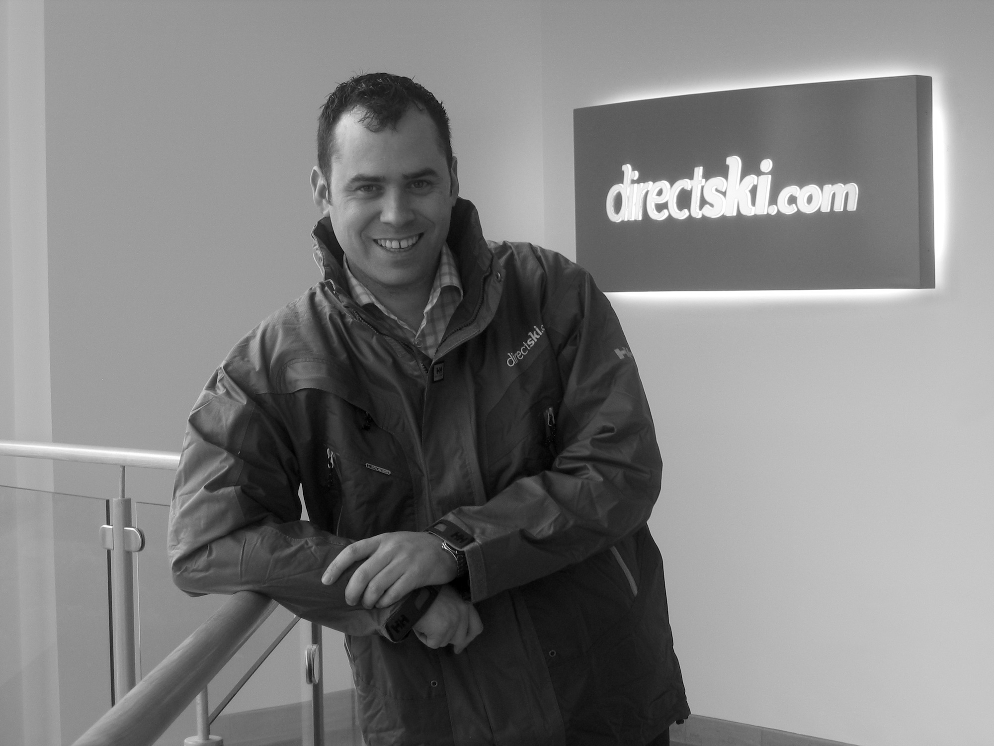 Anthony Collins, Co-Founder and Chief Executive of Directski.com