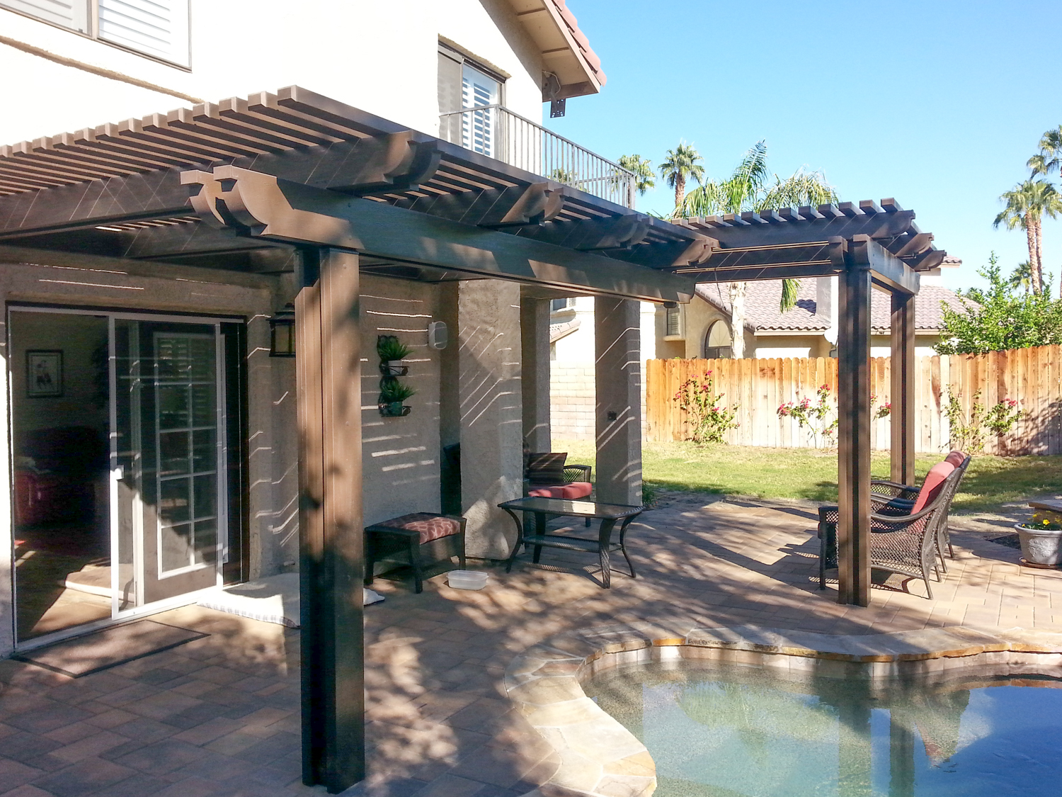 Custom Multi-Level Patio Cover, 92270