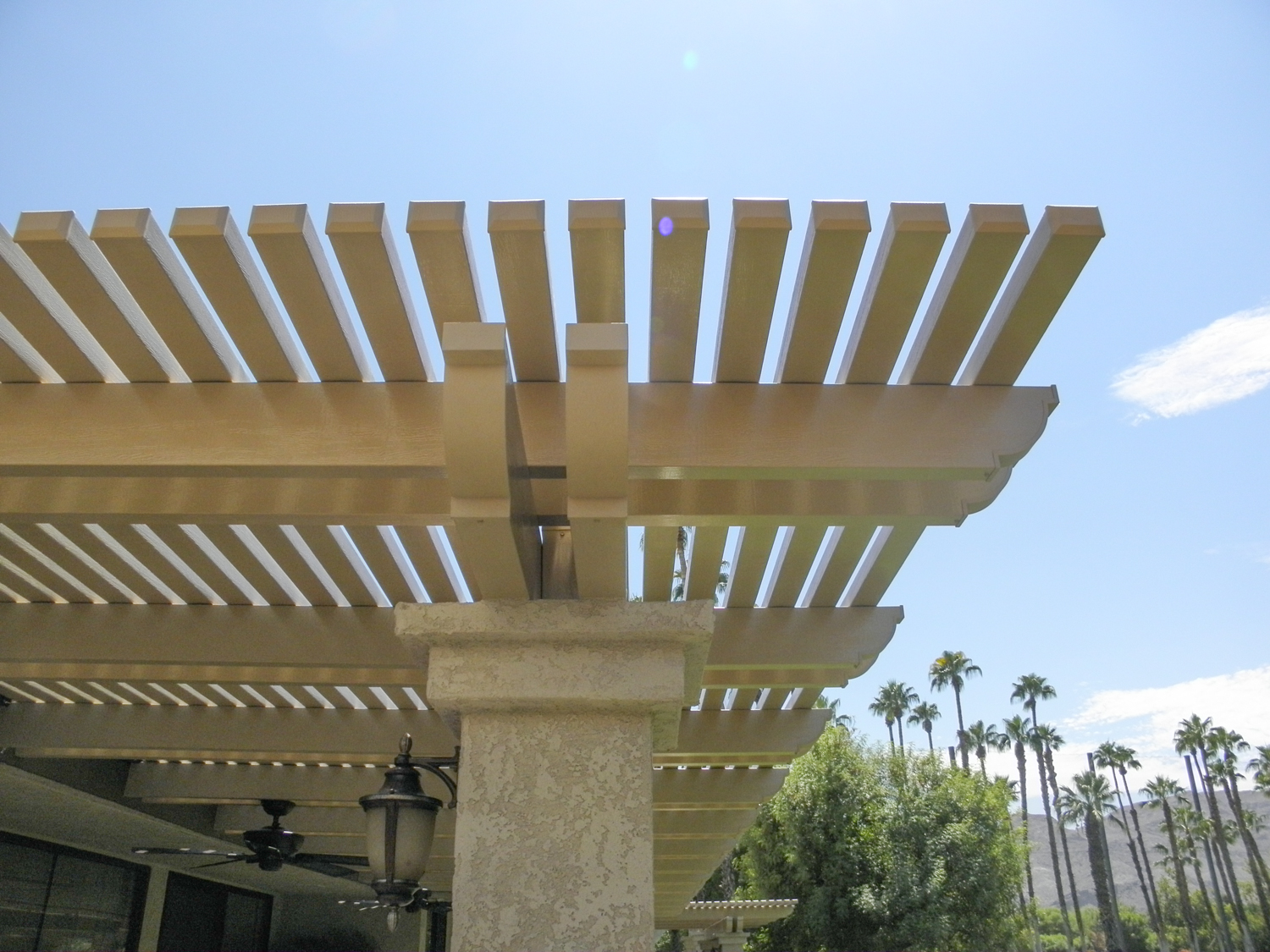 Custom La Quita Lattice Patio Cover, 92253