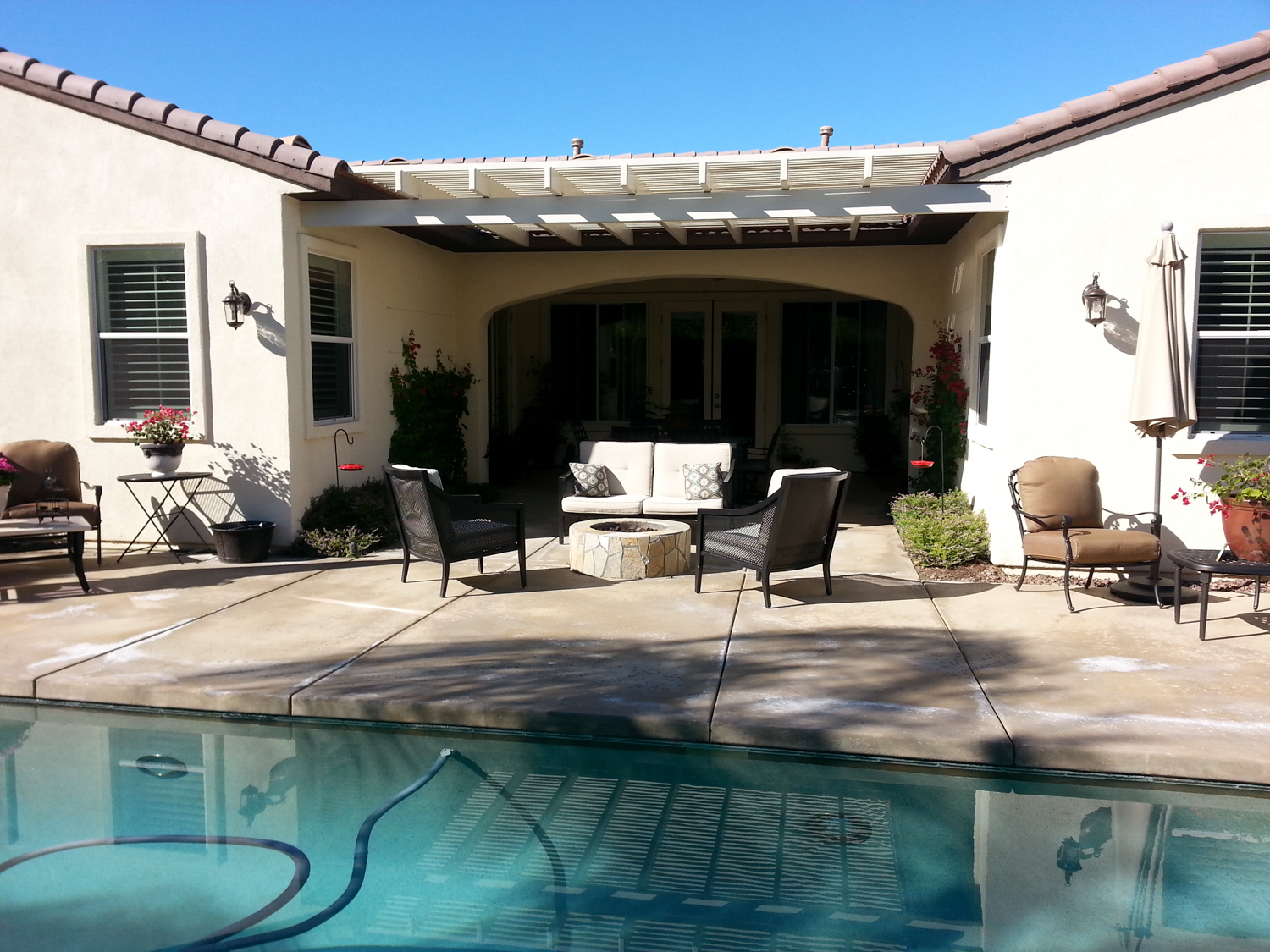 Custom Back Door Awning, Rancho Mirage, CA, 92270