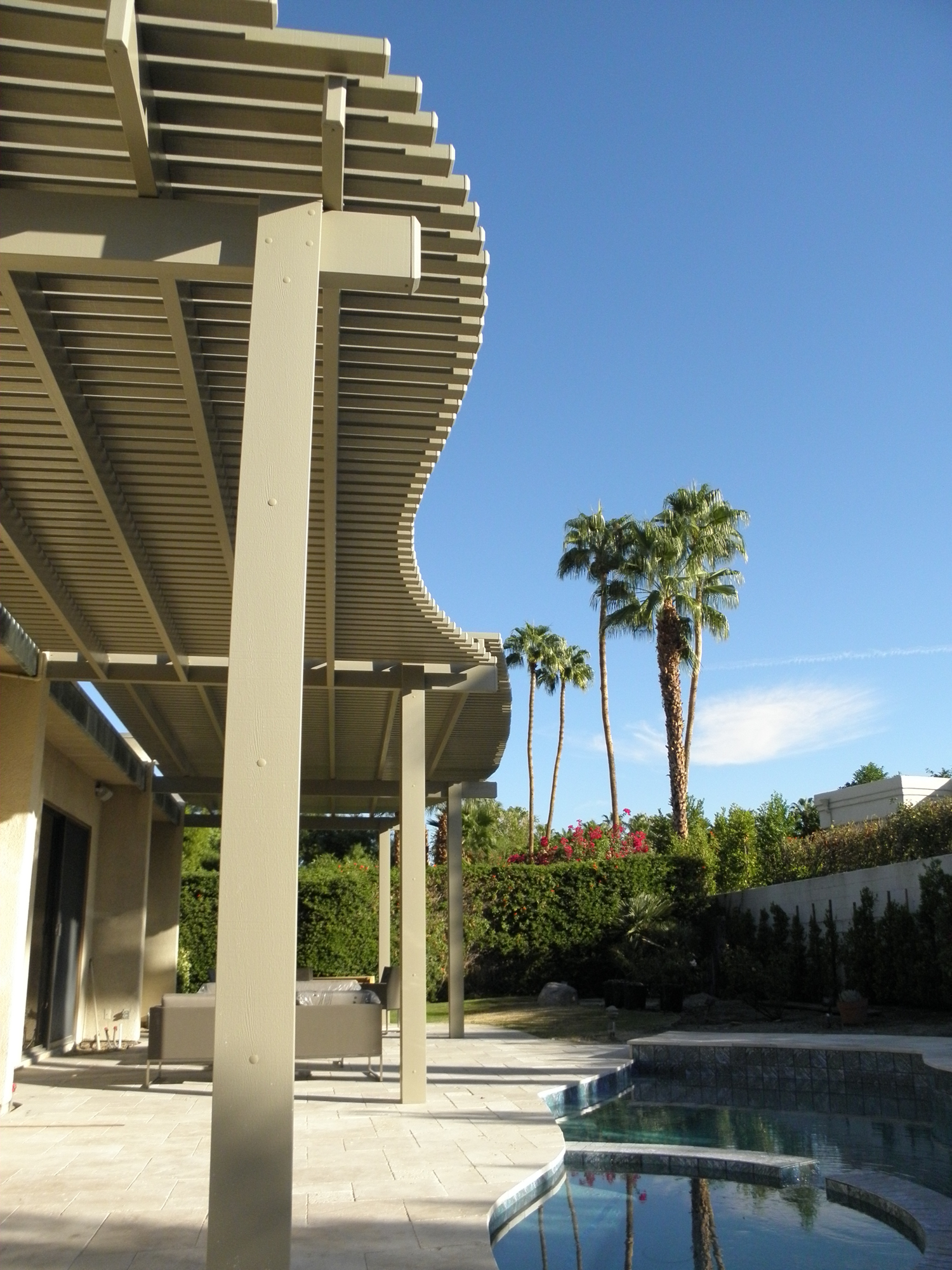 Contoured Lattice Patio Cover, Palm Springs, CA, 92262