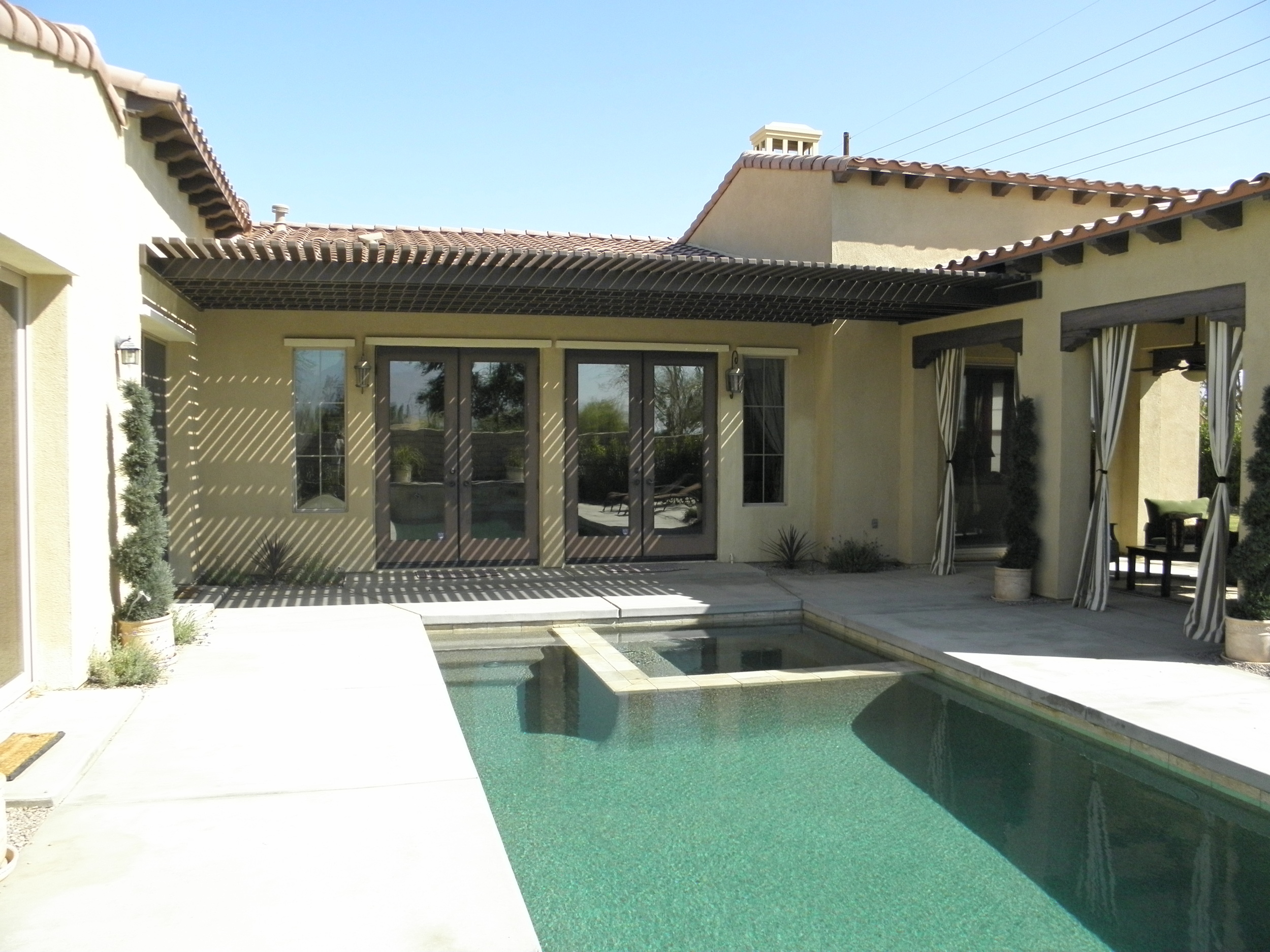 Lattice Patio Cover Custom Fit, La Quinta, CA 92253